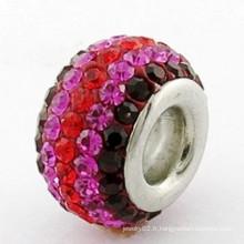 Bracelet Shamballa en acier de haute qualité