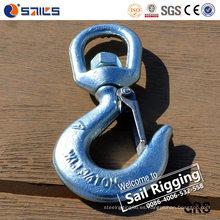 Swivel Slip Sling Crane Hook con pestillo S322