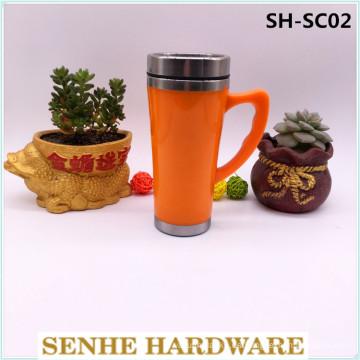 450ml taza automática, taza de viaje de acero inoxidable (SH-SC02)