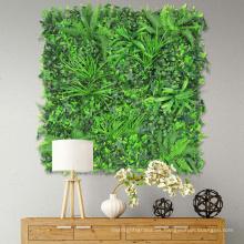 Nuevos diseños personalizados plantas de pared de hiedra artificial para todas las estaciones
