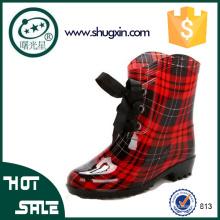 дамы модные резиновые сапоги красивые женские дождь обувь
