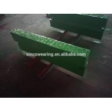 Blow bar Mn13Cr2 Mn18Cr2 Mn22Cr2Hong Chrome Cr26 Cr20Mo Cr15Mo Martensitic Manganese - Broyeur à impact sapre parts