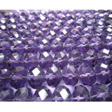 Granos de cristal Granos de la joyería con un agujero