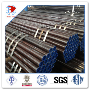 4 inci eksternal PP Coated Cold-Drilled Carbon Steel Pipe