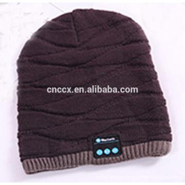 PK18ST013 2018 new fashion wireless earphone winter beanie wireless earphone hat