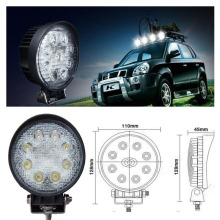 16 shocking price 12V 24W Motorcycle Led Work Light & Off Road Led Light