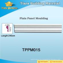 Moldes de panel de pared multicolor PU con materiales superiores