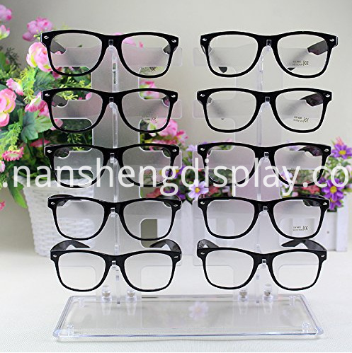 Glasses Acrylic Clear Display Stand