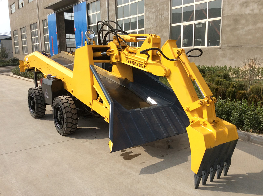 Tunnel Muck Loader