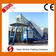 YHZS25 Móvil de hormigón de la planta de mezcla, lote de hormigón móvil / planta de dosificación para la venta