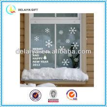 Прекрасный электростатического Рождество стикер окна
