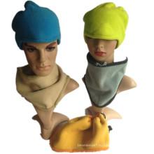 Многофункциональный шарф из теплого уха с шарфом из теплого уха, шапочка из флиса, зимняя шапочка
