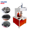 dished end flanging machine for kitchenware kettle cooker