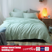 Cotton Lyocell Hemp Blended Bed Linen Factory Direct Sale