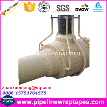 Viscoelastic Body Adhesive Tape for Gas Pipe Flange Valve