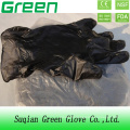 Black Medical Disposable PVC Vinyl Glove