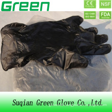 Black Disposable Examination Vinyl Glove