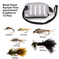 Atacado Bead Head Ninfa Fly Pesca Moscas