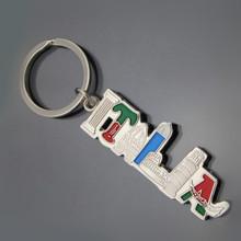 Italia Brief Geschenk Metall Schlüsselanhänger Tour Produkt Souvenir Geschenk (1423)