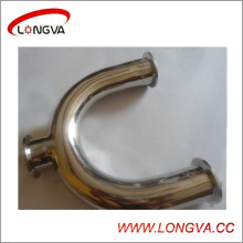 Hotsale Sanitary Stainless Steel Clampped U-Type Tee