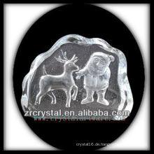 K9 Kristall Intaglio von Form S060