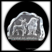K9 Crystal Intaglio do molde S060