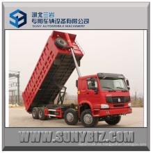 60t Sinotruck HOWO 8X4 Camión volquete pesado