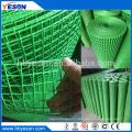 8 кг индийский рынок зеленый ПВХ покрытие квадратной сварной сетки животных клетку проволочной сетки
