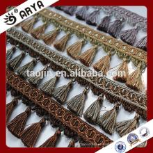 Hangzhou Taojin Stock Tassel Curtain Tassel franges, fabricante Alibaba