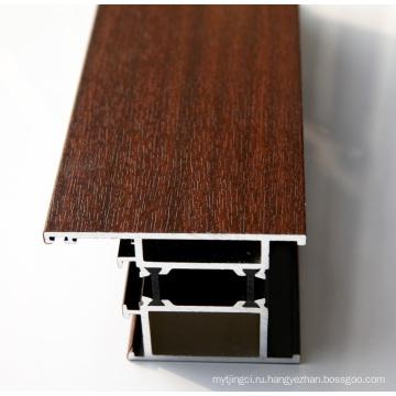 Алюминиевый профиль с различной поверхностью