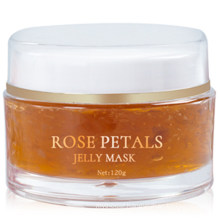 High Quality Organic Hydrating Moisturizing Korean Sleeping Rose Petal Skin Care Jelly Facial Mask