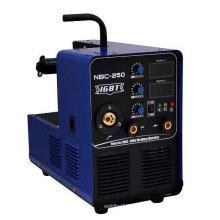 Máquina de soldadura de escudo de CO2 en MIG250gy para la industria pesada