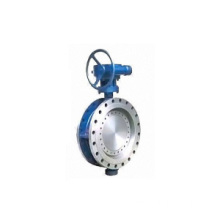 Triple Offset Resilient Seated Butterfly Valve