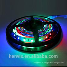 Haute luminosité à l'eau smd5050 couleur de rêve numérique 5v rgb led strip light