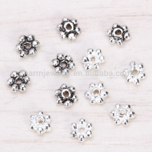 sef024 100pc/lot s925 Sterling silver jewelry beads accessories 3mm Thai silver crystal spacer beads diy fittings handmade