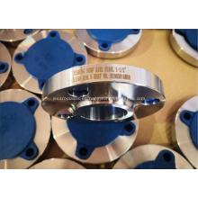 Brida de soldadura de casquillo ASTM A182 F304L B16.5
