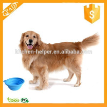 Soft and Flexible Eco-Friendly Silicone Collapsible Food & Water Bowl