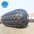Garde-boue marin de type Yokohama de 2,5 m * 3,5 m avec chaîne et pneu