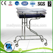 BDB06 medical stainless steel children baby cots and cribs