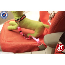 Thicken adjustable elastic nylon pet dog car safety seat belt for cheap price