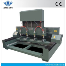 China High Efficiency Multi-head Stone processing machine for Cylinder