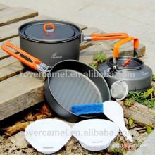 Arce de fuego fiesta-2 2-3 persona utensilios set ollas ollas de Camping portátil de deportes al aire libre
