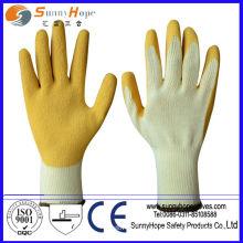 Рабочие перчатки из латекса / нитрила / ПВХ / ПУ