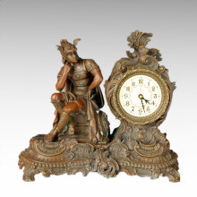 Reloj Estatua Romano Estrategos Bell Bronce Escultura Tpc-038