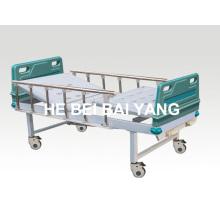 A-91 Cama de hospital móvil manual de doble función