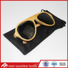 Full Scale Hot Stamping Custom Microfiber Sunglasses Case