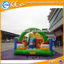 Bouncer inflable modificado para requisitos particulares de la diapositiva para la venta, china combo inflable