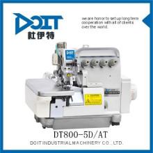 DT800-5D / AT Auto chiffons absorbant dispositif overlock type de machine à coudre