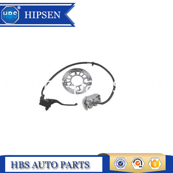 Hydraulic Disc Brake Assembly Of Motorycle
