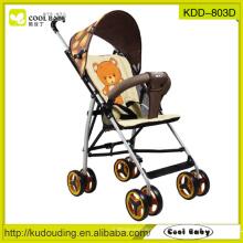 2015 NEU Baby Buggy China Hersteller Portable Baby Kinderwagen Abnehmbare Armlehne Verstellbare Fußstütze Rückenlehne